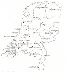 Fig. 3 - Plan Districten 1929